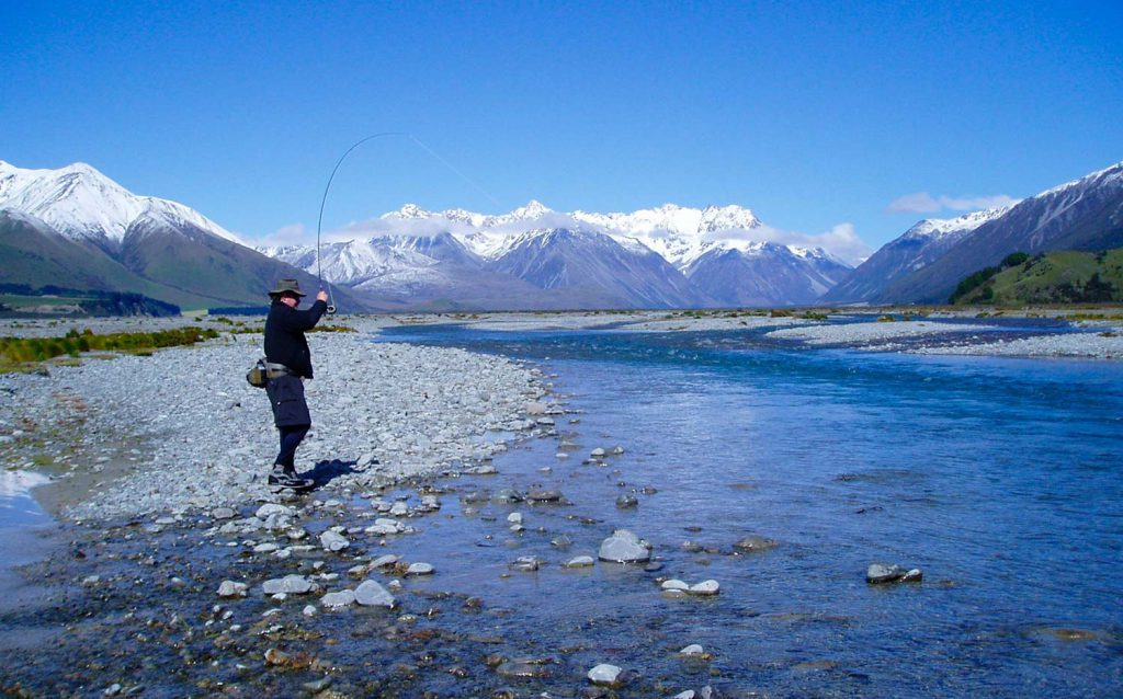Fly fishing in Canterbury