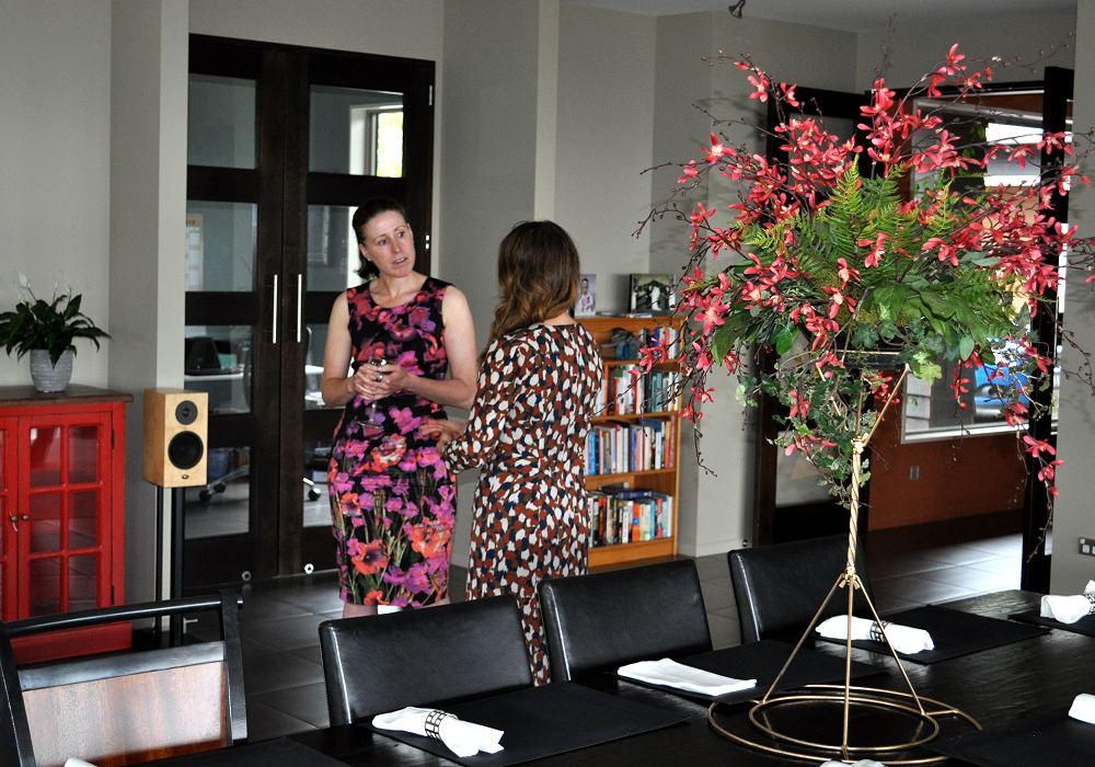 Dinner party at Waipuna Estate