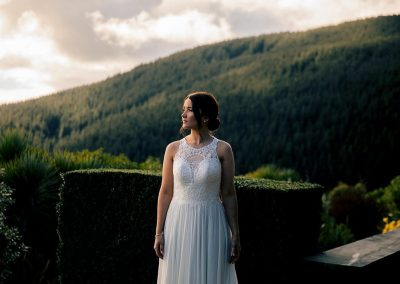 Bride at Waipuna