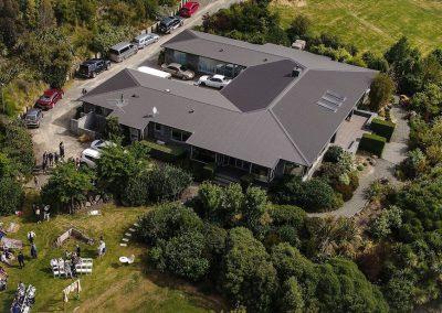 aerial view of Waipuna Estate