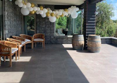 The terrace at Waipuna