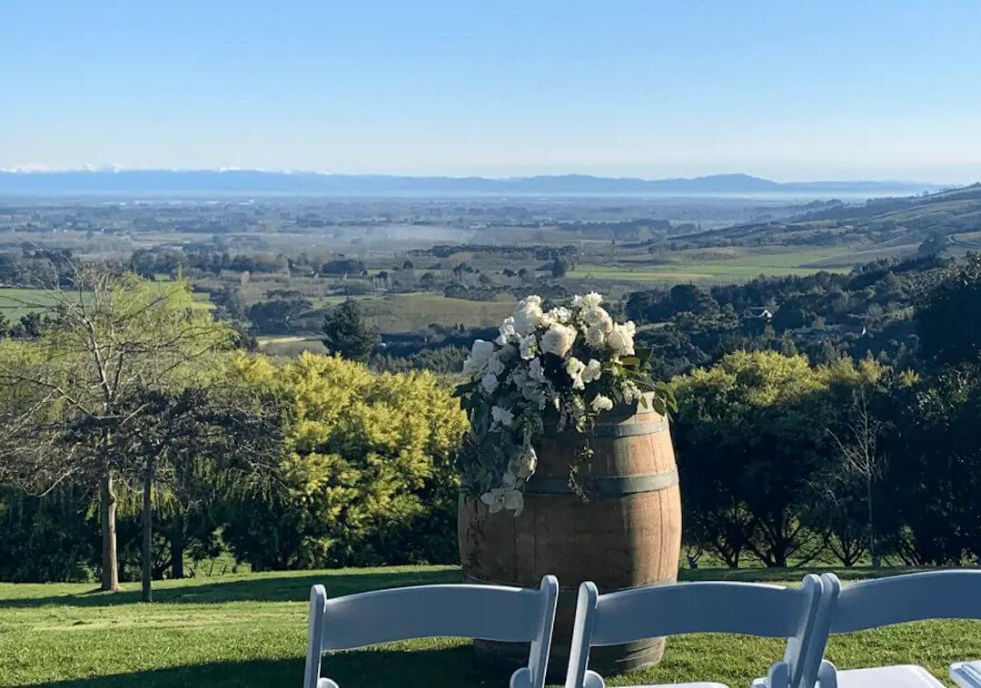 beautiful wedding ceremony location