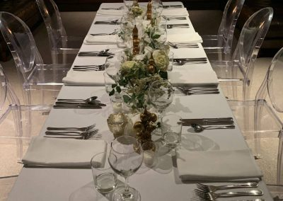 And intimate dinner party at Waipuna Estate