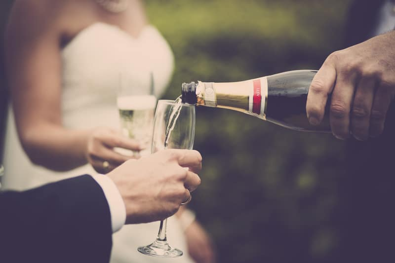 BYO Wedding Champagne