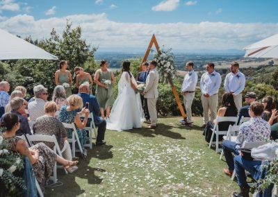 Wedding Ceremony at Waipuna